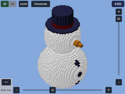 plotz minecraft snowman generator